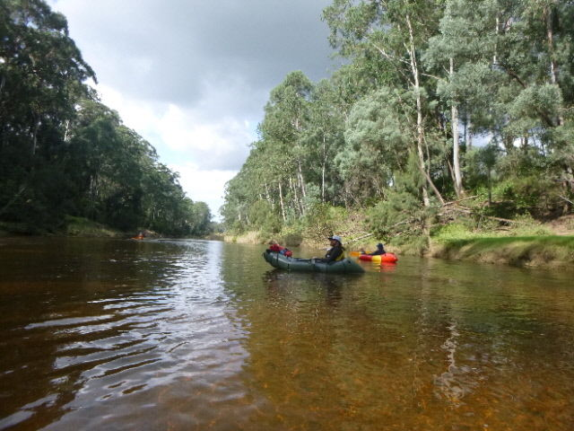 Navua Reserve to the last rapid on the Grose River and return