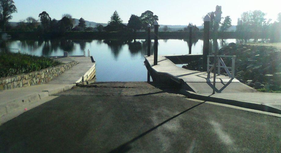 Moruya Riverside Park Boat Ramp